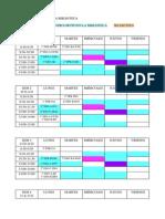 Calendario Plan Lector 2015-16