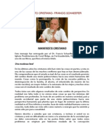 Francis a. Schaeffer - Manifiesto Cristiano