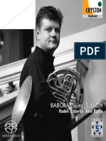 BACH, J.S.- Chorale Arrangements for Horn and Organ (Baborák spielt J.S. Bach)