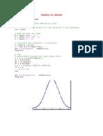 Distribuciones en Matlab
