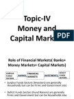 Money and Capital Markets 2015