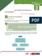 3 -TEMA 6 -Producción de Textos Procesos y Estrategias -Ciclo V_comu