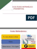 Derivados Do Ácido Antranílico (Fenamatos)