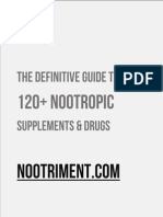 NOOTRIMENT.COM - The Definitive Guide to 120+ Nootropic Supplements & Drugs