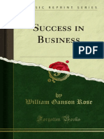 Success in Business 1000000013