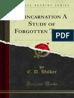 Reincarnation a Study of Forgotten Truth 1000001278