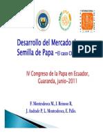 LA PAPA EN EL ECUADOR