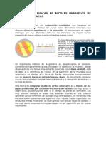 Propiedades Fisicas en Nicoles Paralelos-Minerales Opacos (menas)
