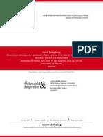 Administración Estratégica de La Producción- Modelo Con Base en La Matriz de Tecnología. Una Herrami