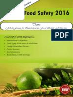 Foodsafety2016 Brochure