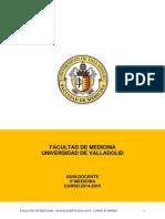 Medicina - Guia 4 2014-2015