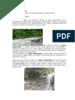 Hidrografía(Cuerpos de Agua)