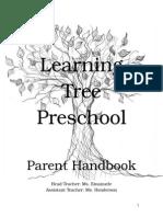 policy handbook learning tree
