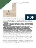 Elaboran Manual de Paleografía de Los Siglos XVI