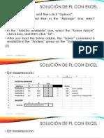 3.2 Programación Lineal (Ejercicios)