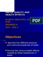 Water Quality and Health Effects