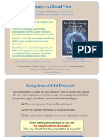Energy a Global View