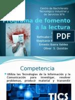 Programa de Fomento a La Lectura