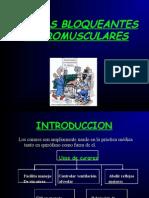 RELAJANTES MUSCULARES- CURARES