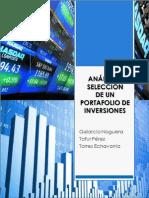Análisis de Riesgo y Rendimiento de un portafolio de inversiones