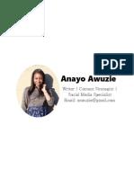 Anayo Awuzie's Portfolio