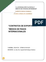 Clase 4 Contrat Export Medios de Pagos Internac NI 14
