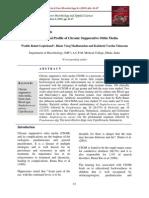Bacteriological Profile of Chronic Suppurative Otitis Media