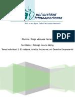 Estructura constitucional del Estado Mexicano