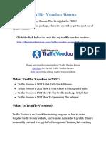Traffic Voodoo Bonus