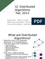 Algoritmos Distribuidos