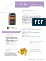 Zendocrine Softgels Product Information Page (Français) Europe 6345