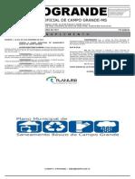 Plano Municipal de Saneamento Básico de Campo Grande (PMSB)