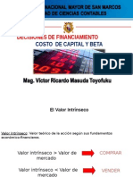 2-Costo de Capital y Beta