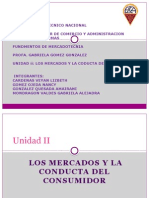 Unidad II Mercadotecnia
