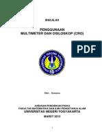 Penggunaan Multimeter Dan Cro