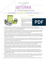 101 Usages Pour Le DoTERRA Kit DIntroduction