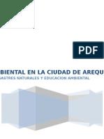 Analisis de Contaminacion Ambiental Arequipa