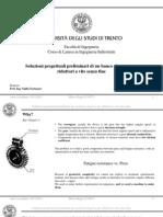 Design of a test bench for worm gear transmission (slides)