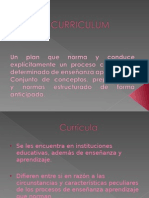 Curriculum Educativa