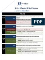 course schedule - 2016 fitness  sis30315
