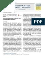 Uso de Corticoides Tras La Lesión Medular Aguda- La Controversia NASCIS