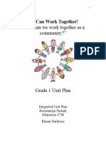 unit plan planning guide