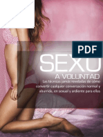 Sexo a Voluntad