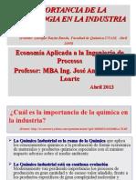 3 Abr 2013 Enrique Bazúa Importancia de La Tecnologia en La Ind Quimica