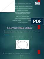 Velocidad Lineal 4.3.1