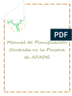 Manual de Planificación Centrada en la Persona (PCP)Apadis