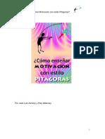 Manual ¿Como Ensenar Motivacion Al Estilo Pitagoras