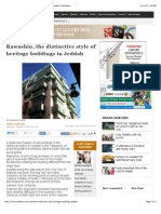 Rawashin-distinctive Style of Heritage Buildings in Jeddah