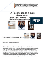 Aula 1 - Os Desafios Da Hospitalidade (1)