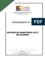 Procedimiento Sistema Monitoreo Cctv